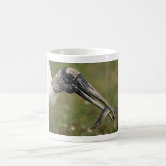 Wood Stork Classic White Coffee Mug