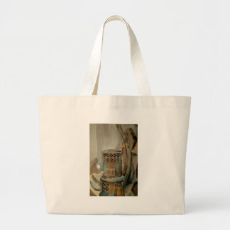 Wood Stove and Sythe Tote Bags