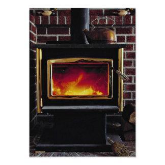 Wood stove card