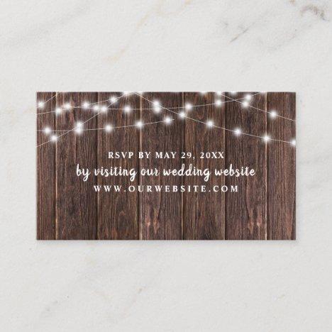 website card