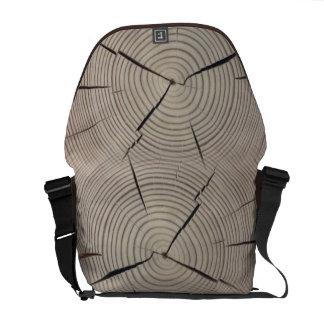 Wood Stump Courier Bag