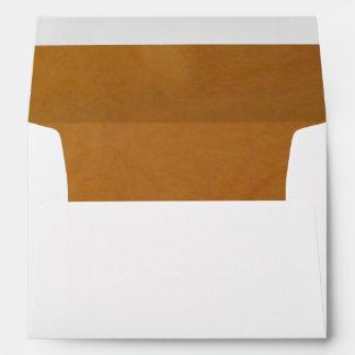 Wood - subtle burl envelopes