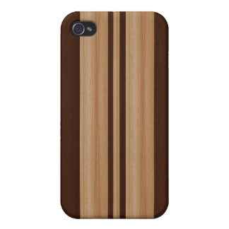 Wood Surfboard iPhone 4 4S Speck Case - Faux Wood iPhone 4/4S Cover