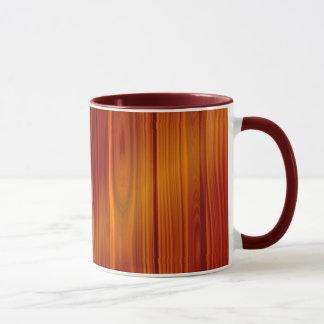 Wood Teak Mug