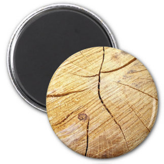 wood texture 2 inch round magnet