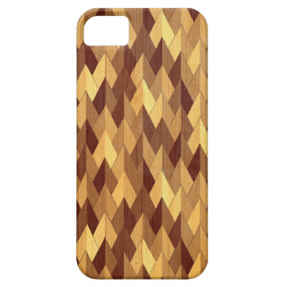 Wood Texture Abstract Diamond Design iPhone 5 Cover