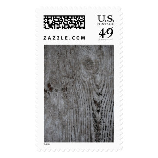 Wood Texture Abstract Pattern Postage