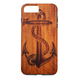 Wood Texture (Anchor) iPhone 8 Plus/7 Plus Case