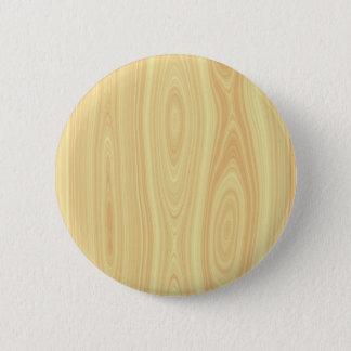 Wood texture background pinback button