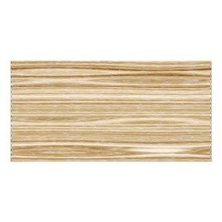 wood texture card