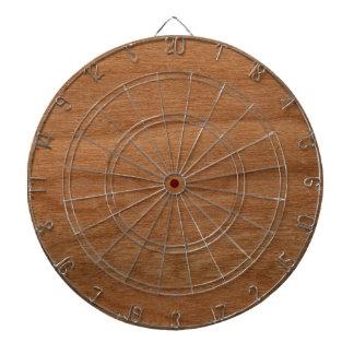 Wood texture dartboards