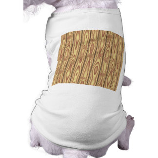 Wood texture dog t shirt