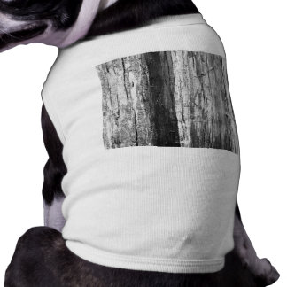 Wood Texture Dog Tee Shirt