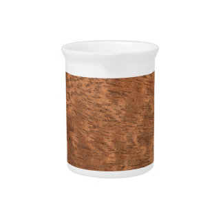 Wood texture drink pitcher