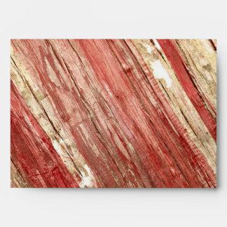 Wood Texture Envelope