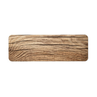Wood Texture For Background With Natural Patterns Label