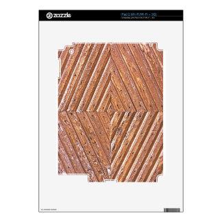 Wood Texture iPad 2 Skin