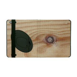 Wood texture iPad case