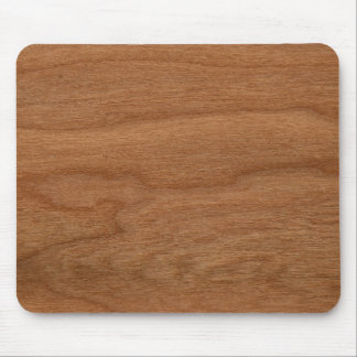 Wood texture mouse pad