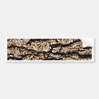 Wood Texture Natural Save Tree Eco Bumper Sticker
