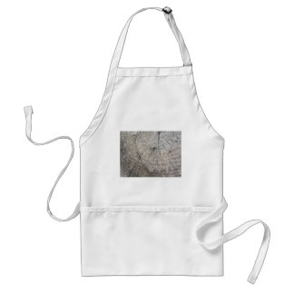 Wood texture of cut pine tree trunk adult apron