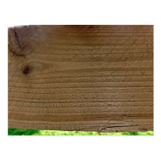 Wood texture of native timber postcard