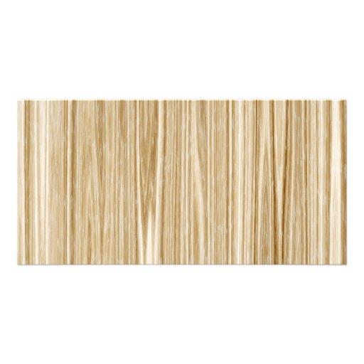 wood texture photo greeting card