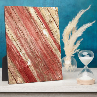 Wood Texture Plaque