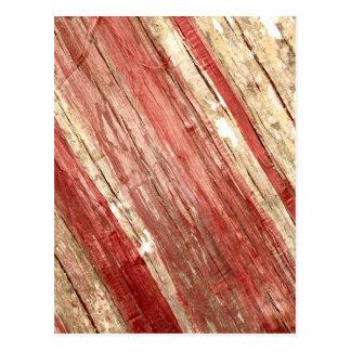 Wood Texture Postcard