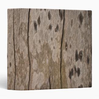 Wood Texture Print Binder
