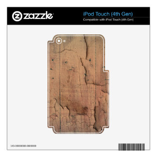 WOOD TEXTURE DECAL FOR iPod TOUCH 4G