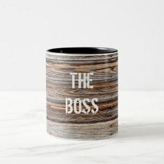 Wood Texture Template Mug