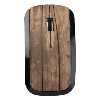 Wood Texture Wireless Mouse