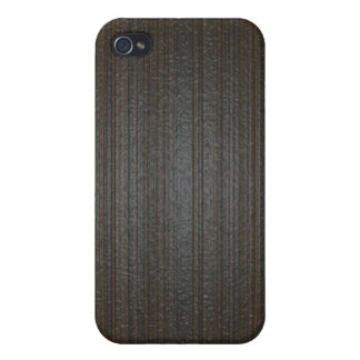 Wood textured case for iPhone 4