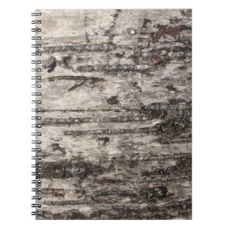 Wood Textured Notebook