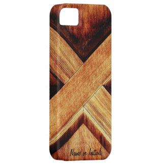 Wood Tone X iPhone 5 Covers