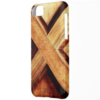 Wood Tone X iPhone 5C Covers