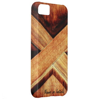 Wood Tone X iPhone 5C Cover
