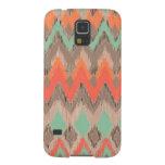 Wood tribal aztec chevron zig zag ikat pattern galaxy s5 covers