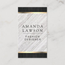 Wood Trim and Lux Designs Variation Business Card