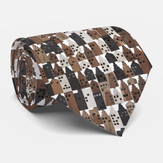 Wood village tie