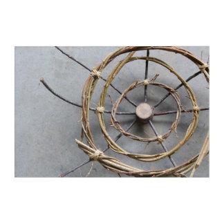 Wood & Vines Nature Art Sculpture Closeup
