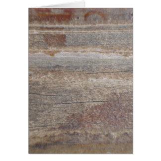 wood w 2 bolts card
