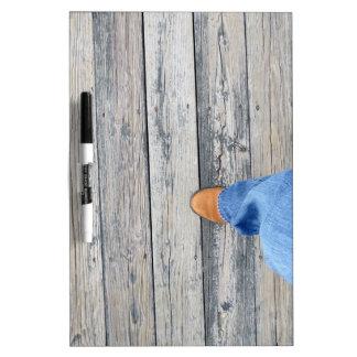 Wood Walking Dry-Erase Board