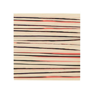 Wood wall art with stylish design Stripes