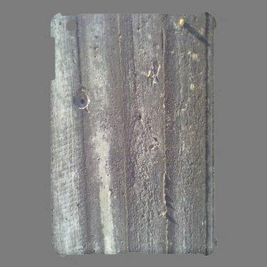 Wood wall iPad mini case