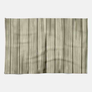 Wood wall texture kitchen towel
