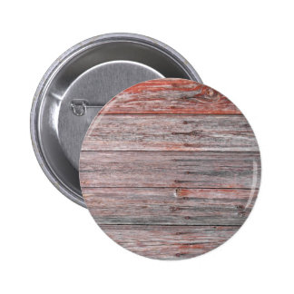Wood Wall Texture Pinback Button