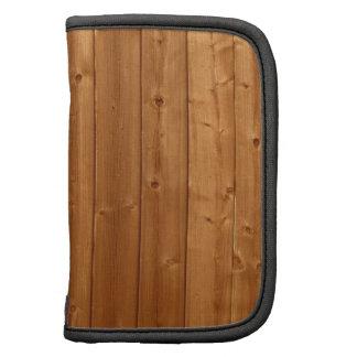 Wood wall texture folio planner