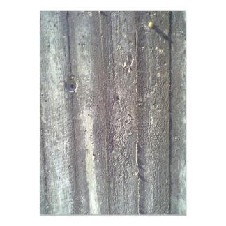 Wood wall magnetic invitations